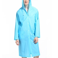 Multiple Colors Raincoat Impermeable EVA Environmental Healthy Non Toxic Rainproof Windproof Adjustable Fashion Simple Rain Gear