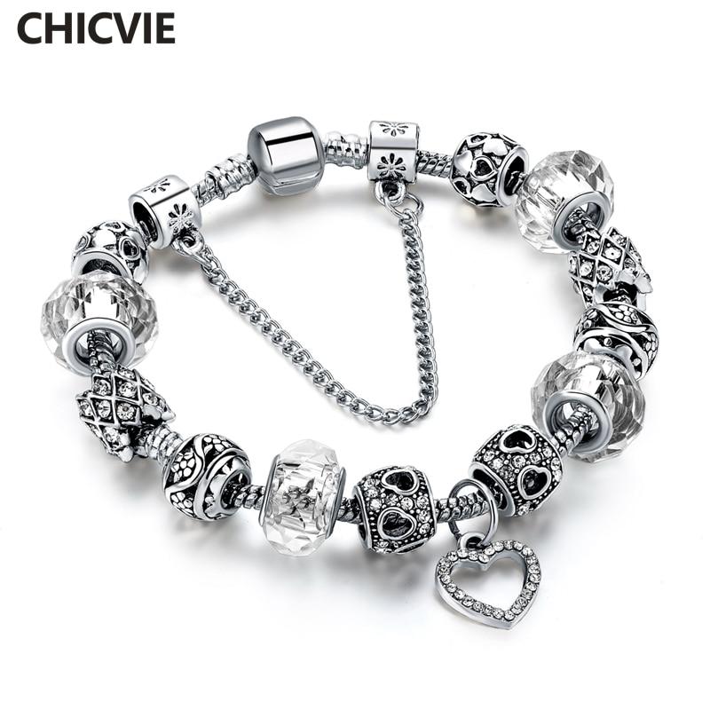 Купить chicvie самодельные подвесные браслеты и браслеты для женщин