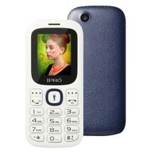 Фабрика ipro i3185 разблокирована сотовых телефонов 1.8 дюймов открыл телефон Мини GSM Bluetooth Dual SIM мобильный телефон английский, испанский русский