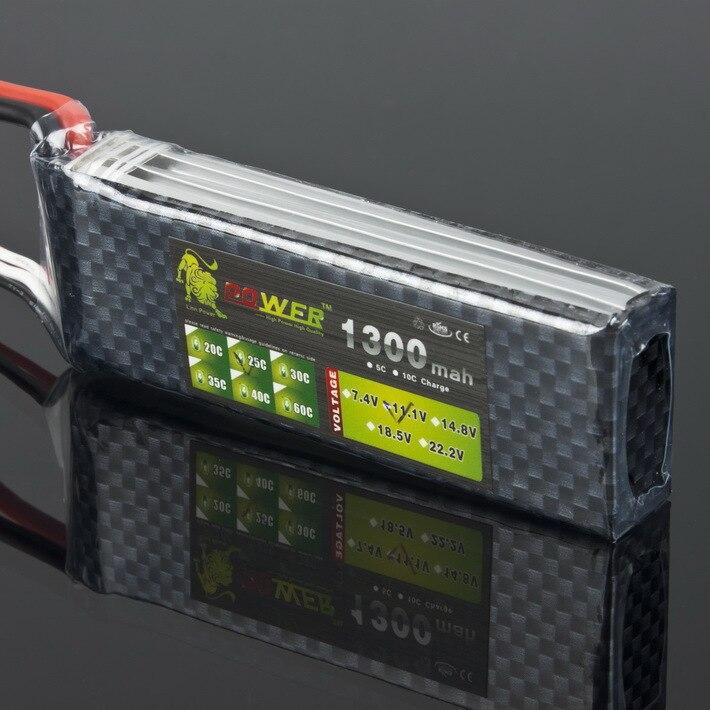 1 pcs Lion Power 3 S 11.1 V 1300 MAH 25C MAX 30C AKKU LiPo RC Batterie Pour Rc Hélicoptère
