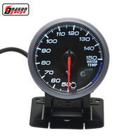 2 52mm Pointer Car Water Temp Temperature Gauge Car And Motorcycle Truck