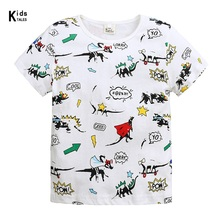 New Summer Baby T Shirt For Boys Girl Kids Clothes Short Sleeve Cartoon dinosaur T-Shirt Baby Boy Clothes Toddler Tops Tee lovely cozy baby girl tops shirt kids child toddler soft cotton fall t shirt tee