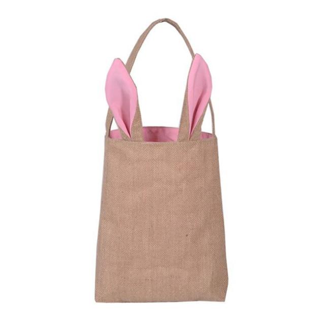 Free shippingwholesale burlap bags rabbit ear shape gifts easter free shippingwholesale burlap bags rabbit ear shape gifts easter bunny bags50pcs negle Images