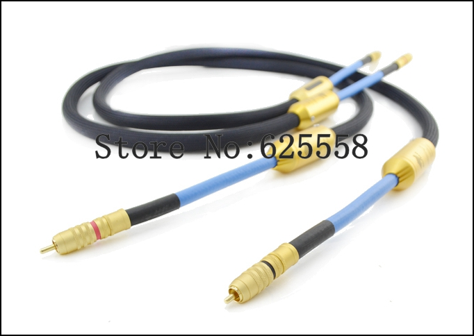 2m G7 EMPRESS Cable Double crown Audio RCA Cable extension cable