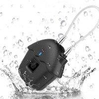 USB Rechargeable Home Fingerprint Lock Biometric Zinc Alloy Portable Waterproof Keyless Luggages Mini Suitcase Smart Padlock