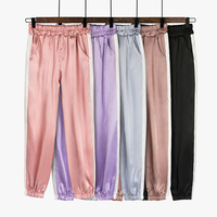 Ins super fire sports pants strange girl pants female students Korean version of the loose summer beam casual pants
