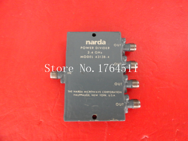 [BELLA] Narda 4313B-4 2-4GHz A Four Supply Divider SMA