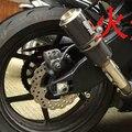 Akpovic gp tamaño personalizado silenciador de escape de acero inoxidable