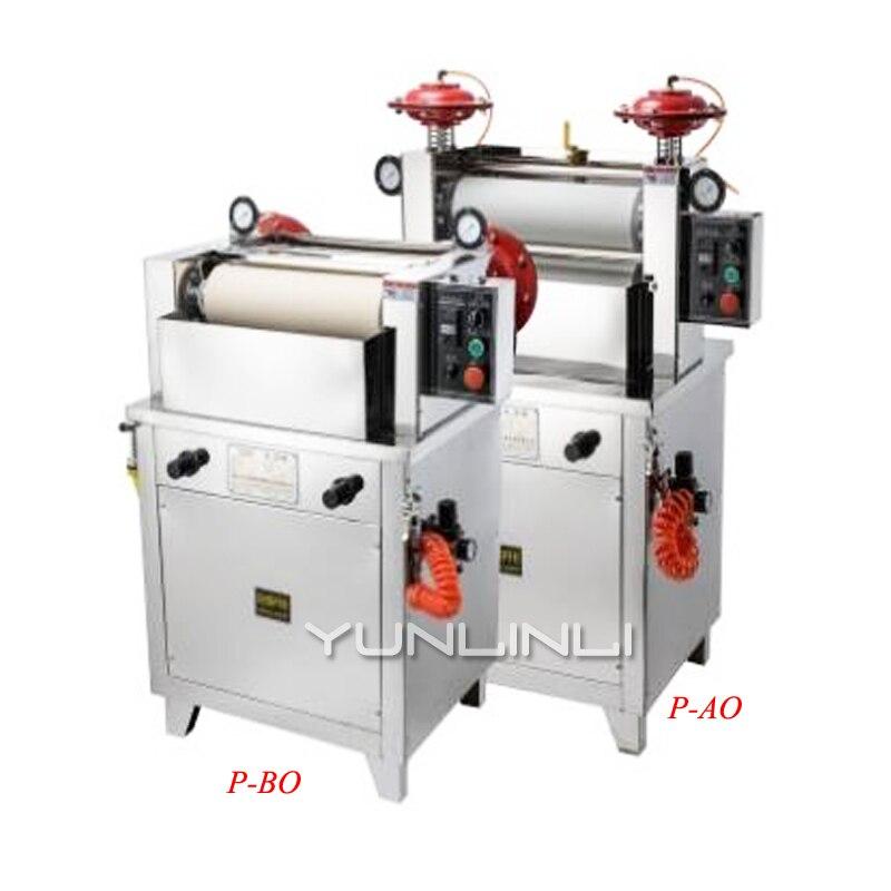 Pression d'air de vitesse constante de voiture de rotation de colorant de Padder électrique pour le blanchiment de tissu teinture imprimant et finissant des procédures P-AO/P-BO