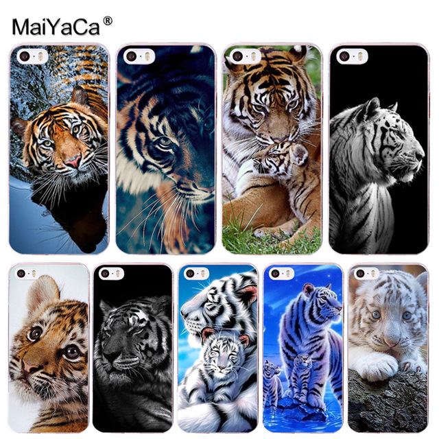 MaiYaCa animal tiger Cub Coque Shell Phone Case for Apple iPhone 8 7 6 6S  Plus 71841c7a5