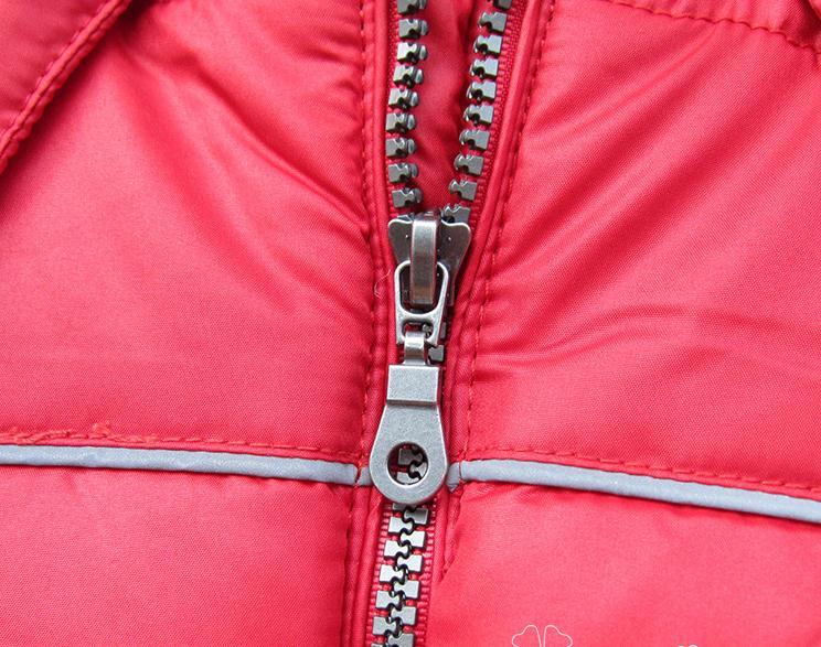 Балалар 12M- 4T қызыл сыртқы пальто. - Балалар киімі - фото 4
