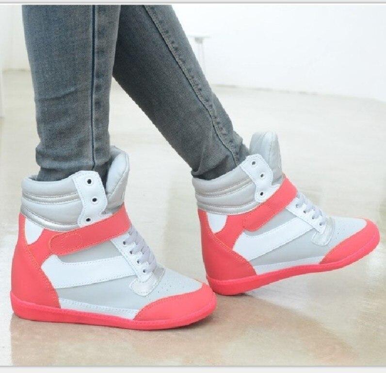 e497171f653 Spring New Designer Wedges White Platform Sneakers Women Shoes 2018 Tenis  Feminino Casual Female Shoes Woman Basket Femme