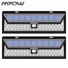Mpow 2pcs Led Solar lampion Outdoor Motion Sensor Garden Light Waterproof Security Pathway Emergency Wall Light 1188 lumens Lamp