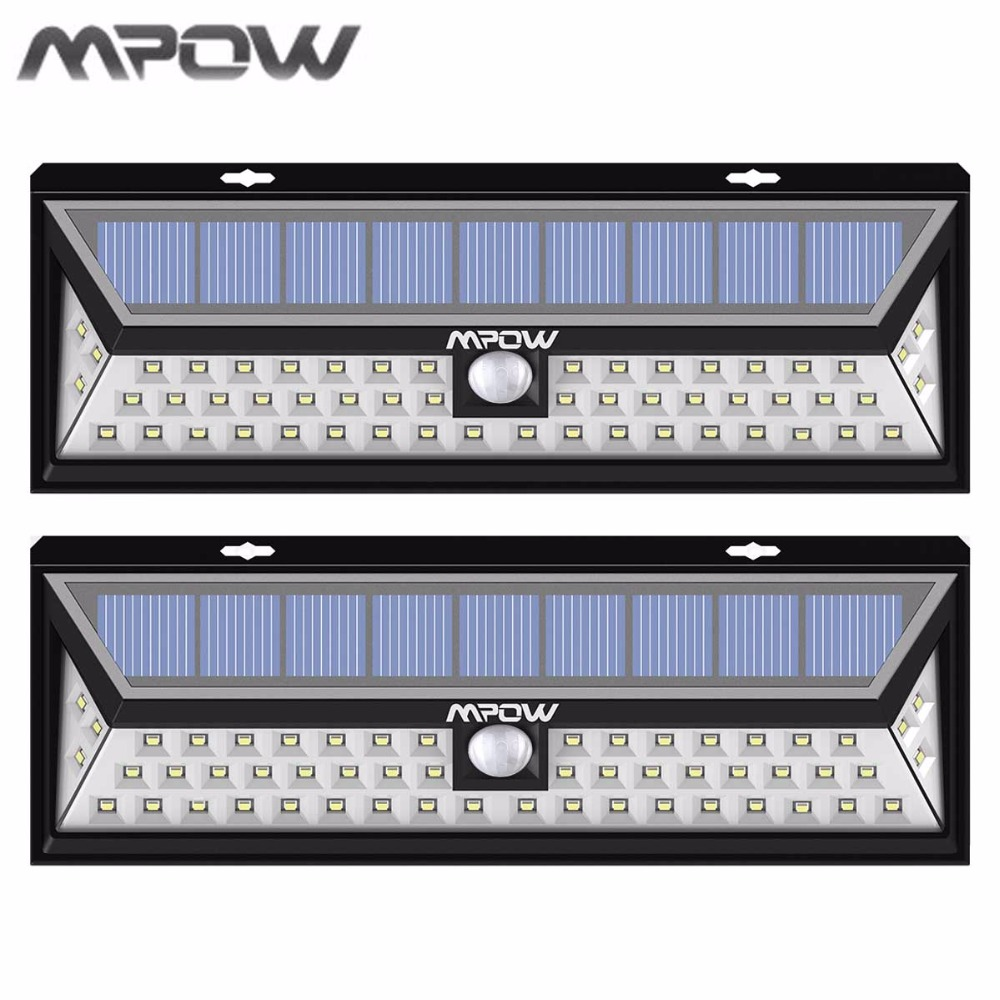 Mpow Led Solar lampion Outdoor Motion Sensor Garden Light Waterproof Security Pathway Emergency Wall Light 1188 lumens Lamp