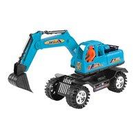 YKS Diecast Plastic Mini Engineering Vehicles Truck Car Large Excavator Model Simulation Car Construction Toys For