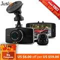 Jusky 2016 Hot selling Dashcam G5WA Ambarella A7 Dual Lens  Full HD 1080p Screen H.264 ADAS Car Camera Video Recorder