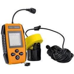 Kąt wykrywania sonaru 45 stopni kabel 200 MHZ wędkarstwo do wykrywania sounder ultradźwiękowy lokalizator ryb dla wędkarzy