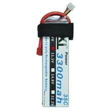 XXL Lipo Battery 3300mAh 11.1V 3S 35C-70C Li-Po Battery for Aircraft X600-D X650 RC Quadcopter Drone Helicopter