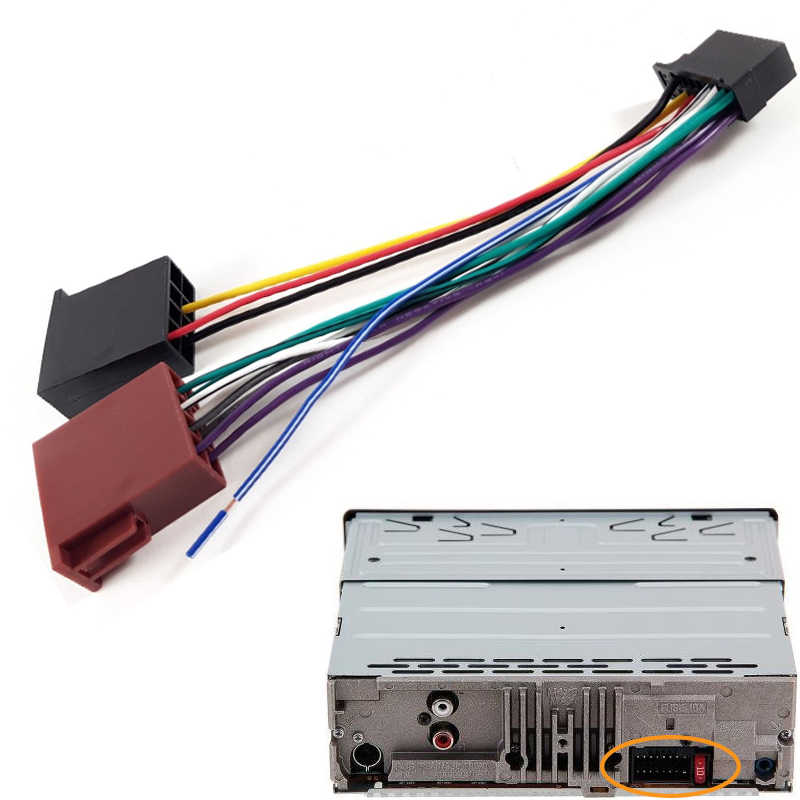 16 Pins Car Auto Stereo Radio ISO Wiring Harness Connector Adaptor Sony Xplod Cd Player Wiring Harness on sony car stereo wiring harness, sony explode radio wiring colors, sony explode wiring harness, sony wire harness color codes, sony cdx f5700 wiring harness, sony stereo wiring colors,