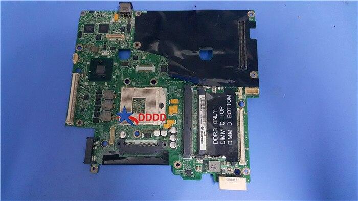 Stock for Dell Precision M6500 Laptop motherboard VN3TR DA0XM2MBAG1 0VN3TR CN 0VN3TR DDR3 100 tesed ok