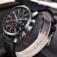 Brand BENYAR Waterproof Chronograph Fashion Sports Watches Date Luxury Quartz Men's Watch Men Clock Relogio Masculino 2019