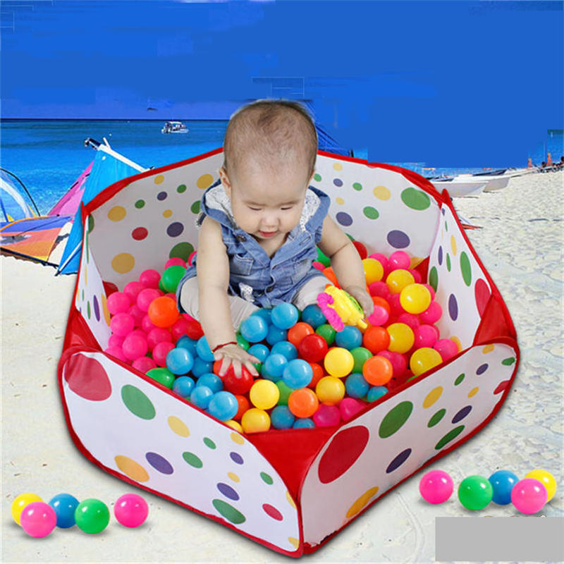 Activity 1.5M Kids Play Game House Foldable Tent Pool Children Dot Ocean  Ball Outdoor Baby Bath Educational Toys-in Toy Tents from Toys & Hobbies on  ...