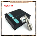 Original Kayfun V4 Tank Kayfun 4 newest RDA atomizer 4.5ml 22mm vs orchid V3 V5 kayfun 3.1 lite V2 for 510 mods E-cigarettes