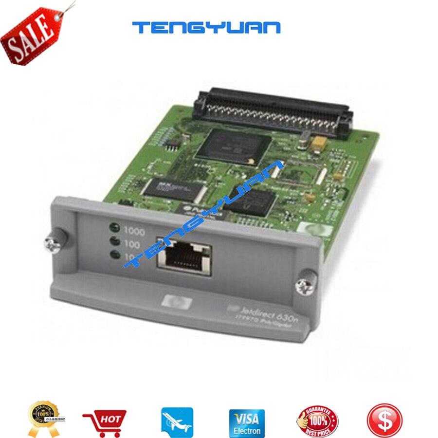 Livraison gratuite 90% nouvelle carte réseau de serveur d'impression interne Ethernet JetDirect 630N J7997G et imprimante de traceur DesignJet