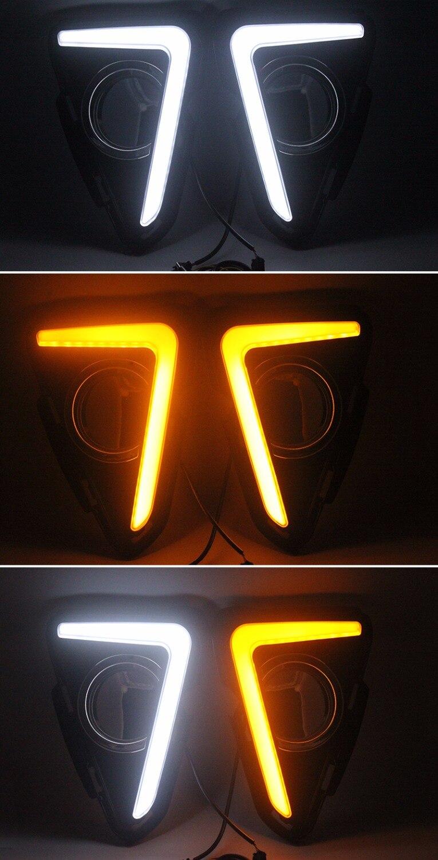 Dnevna svjetla SUNKIA LED DRL specifična za Toyota RAV4 2016-2017 - Svjetla automobila - Foto 6