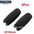 2pcs Black Foot care tool roller Heads Kimisky pedicure herramientas hard roller Heads for sawing scholls size Free Shipping