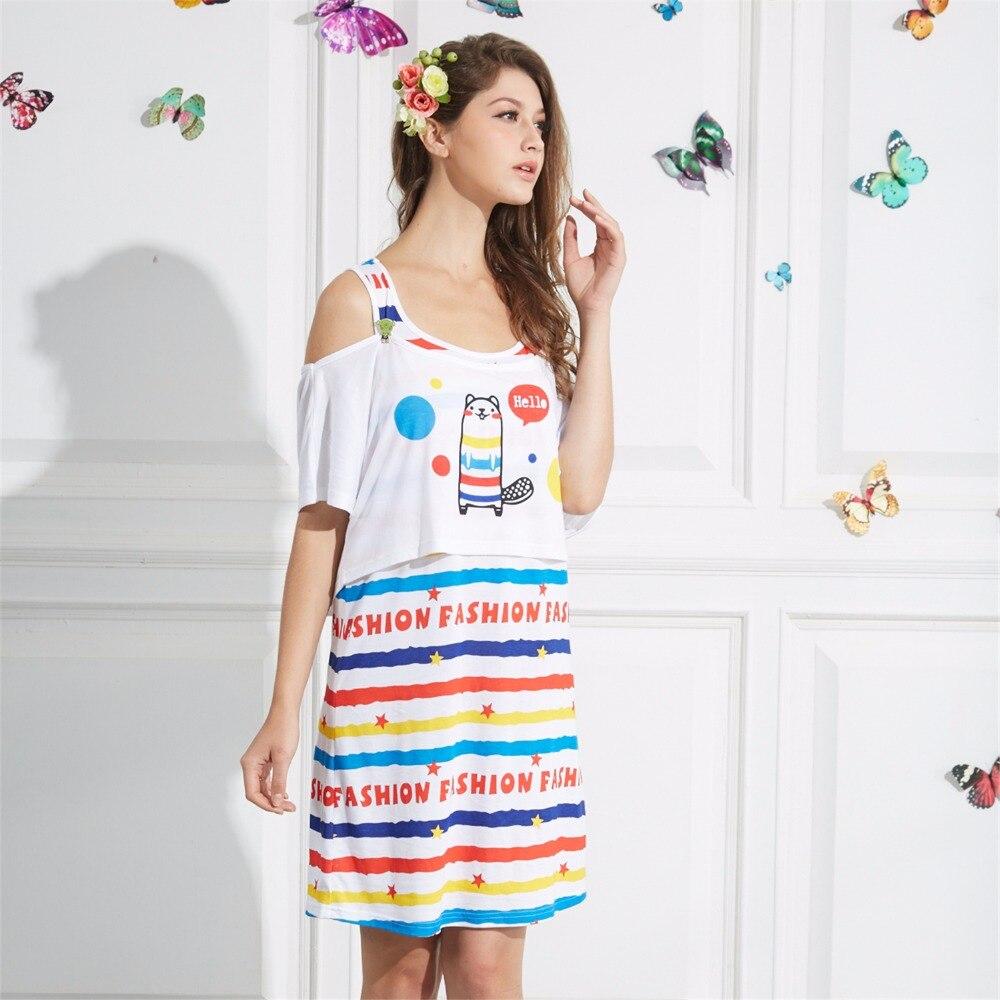 Girl nightgowns new nightwear summer dress casual loose nightdress ...