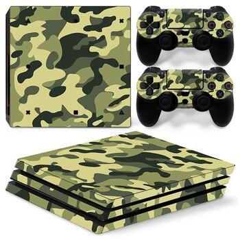 La cubierta completa pegatinas de piel para Play 4 station evitar aranazos Protector etiqueta engomada para PS4 de controlad