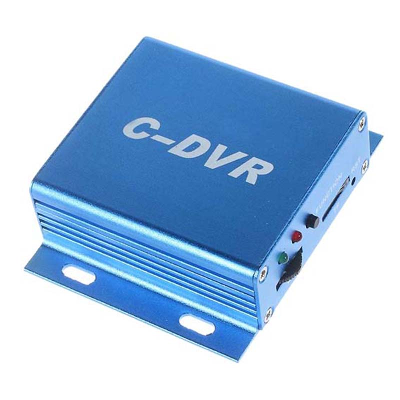 New 1CH Mini CCTV Surveillance DVR Support TF Card Audio Record Motion Detection VGA DVR Digital Video Recorder for CCTV Camera 1channel mini c dvr aluminum alloy video audio recorder motion detection tf card plug