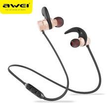 AWEI X650BL двойной драйвер беспроводные Bluetooth наушники с микрофоном громкой связи Наушники стерео звук гарнитура для iphone