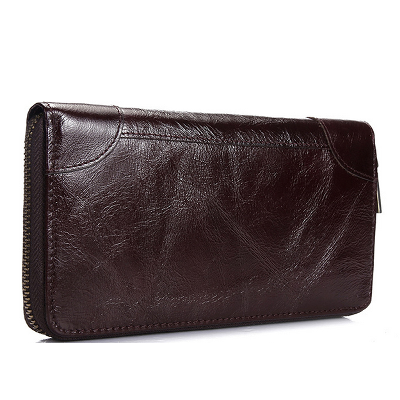 Men Wallet Cowhide Genuine Leather Purse Male Money Clutch Vintage Long Cash Male Wallets Card Holder Coin Photo Casual  urse 2017 new cowhide genuine leather men wallets fashion purse with card holder hight quality vintage short wallet clutch wrist bag