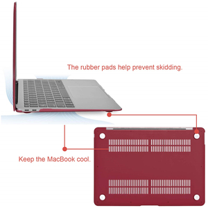 Image 3 - MOSISO Crystal/Matte Case For Macbook Air 13 inch Laptop Sleeve Cover Case For 2018 New Mac Air 13 With Touch ID+Keyboard Cover