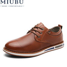 MIUBU Comfort Genuine Leather Casual Shoes Men Loafers Suede Men Winter Shoes Breathable Outdoor Training Shoes Walking Zapatos