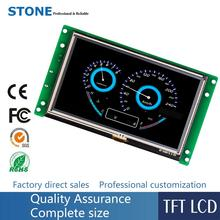 5 inch LCD display module with touch panel + controller board support PIC/ Arduino/ Any MCU