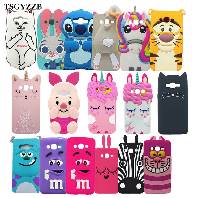 differently 80733 ab24f US $1.75 18% OFF|Soft Cover For Samsung Galaxy Grand Prime Plus G532 SM  G532F Case 3D Silicon Back Cover For Samsung J2 Prime J2Prime Phone  Cases-in ...