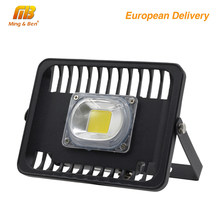 [MingBen] LED Flood Light 100W 50W 30W 230V IP65 Waterproof CE For Square Garden Garage Warm White Cold White Ship form ES RU CN(China)
