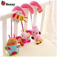 Free Shipping Multifunctional Baby Bed Hanging Baby Crib Mobile Rotating Music Baby Rattles Stroller Hanging CG001