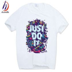 Fitness just do it print poleras hombre t shirt summer white funny tops tee o neck.jpg 250x250