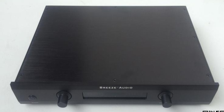 Breeze audio aluminum preamp chassis 4307 Breeze audio aluminum preamp chassis 4307