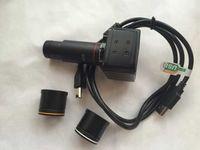 5MP Binocular Stereo Microscope Electronic Eyepiece USB Video CMOS Camera Industrial Eyepiece Camera for Image Capture