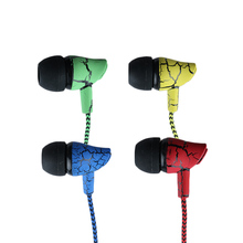 1PC Crack Earphone In-Ear Stereo Earbuds Headset With Microphone For iphone For Samsung OnePlus For XiaoMi For HuaWei
