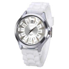 Sizzling Sale Trend Silicone Watch girls girls Gown quartz wrist Watch Clock Relogios Feminino GW-17