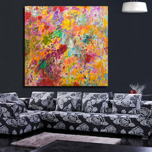 Hummingbirds in Flowers Oil Painting Canvas art Wall Pictures for Living Room posters and paintings Pop Art Dropshipping