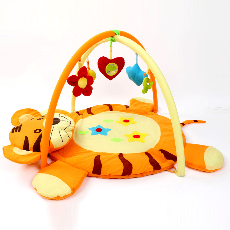Baby Play Mat Game Infantil Cute Tiger Educational Crawling Mat Soft Play Gym Kids Baby Toys Play Mats Kids Blanket 0-12 Months