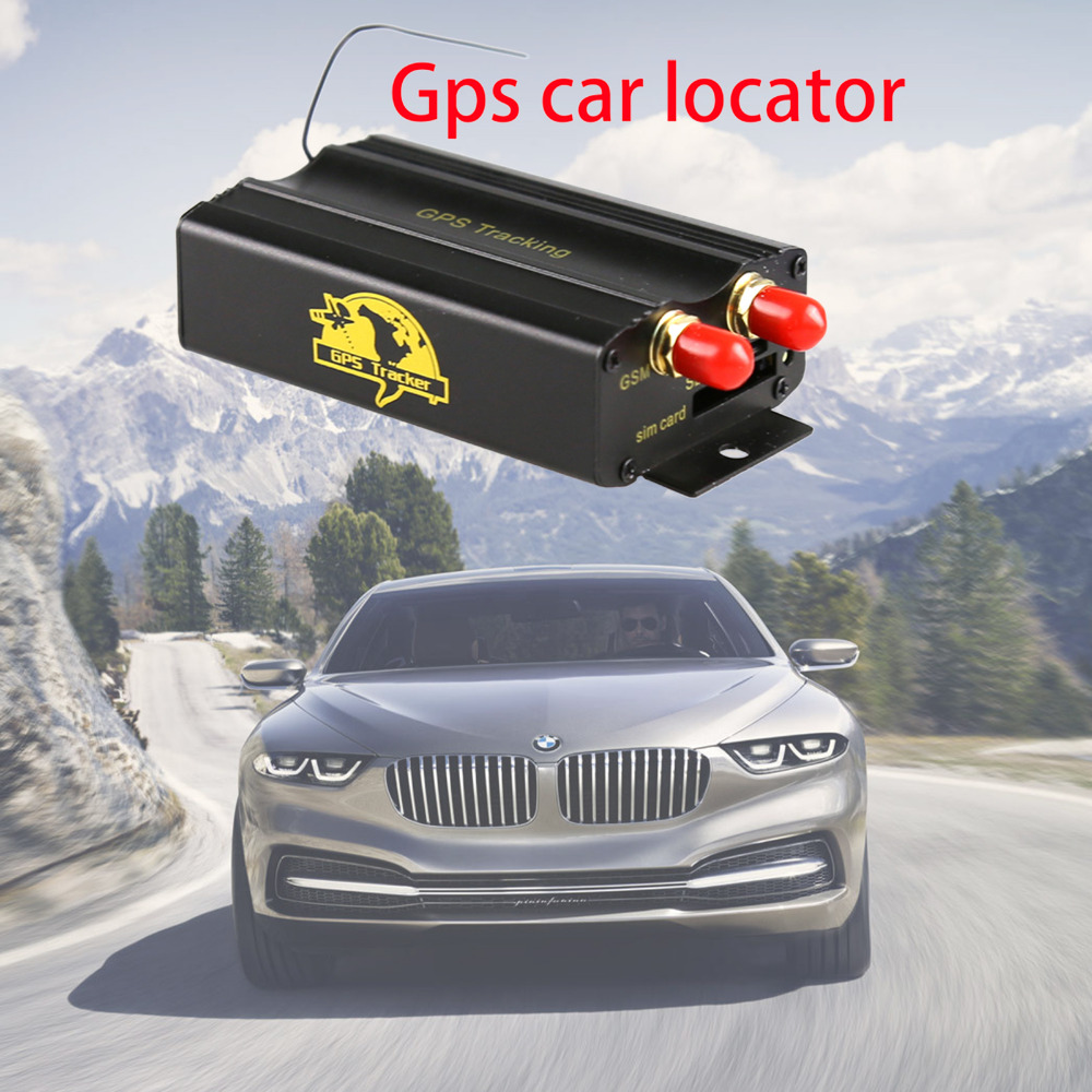 TK103 TK103A GPS103A Car Vehicle GSM GPS GPRS G-Fence Alarm RealTime Tracker SMS Location Tracking Device With SD Card Slot
