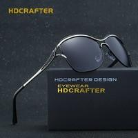 HDCRAFTER Polarized CAT EYE Sunglasses Women Brand Designer 2017 Retro Vintage Eyewear Accessories Sun Glasses For